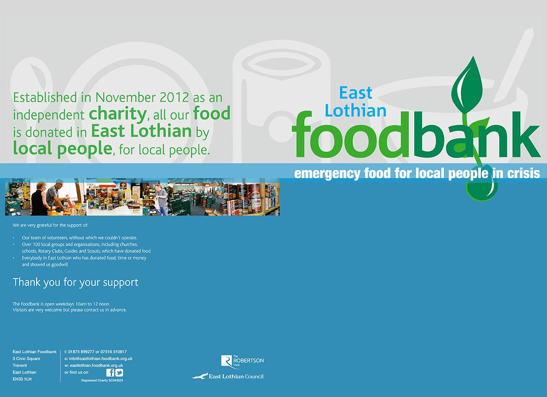Graphic Design Branding In East Lothian East Lothian Foodbank