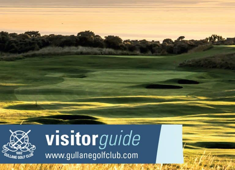 Graphic Design Gullane Golf Club East Lothian Edinburgh Scotland