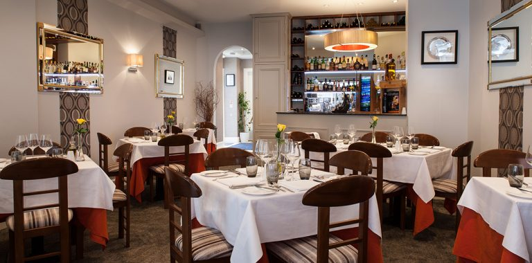 Italian Restaurant Interior Photographer East Lothian Edinburgh Scotland