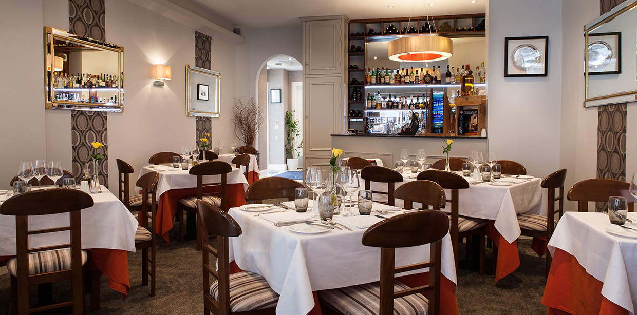 Italian Restaurant Interior Photographer East Lothian Edinburgh Scotland