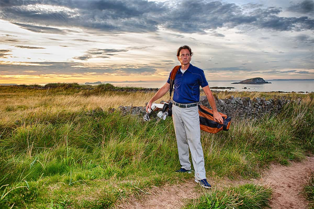 Golf Commercial Photography in East Lothian, Scotland